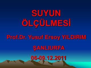 Prof.Dr. Yusuf Ersoy YILDIRIM