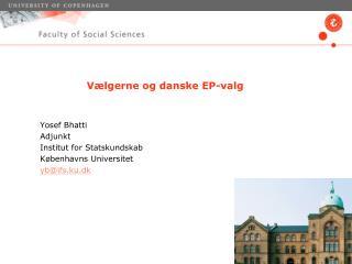 Vælgerne og danske EP-valg