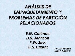 JOHANA ROMERO LEON F. GOMEZ C.