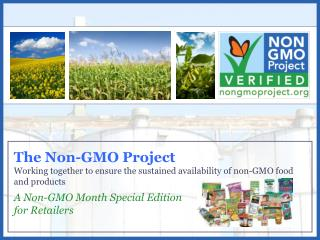 A Non-GMO Month Special Edition for Retailers