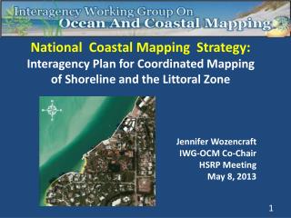 National  Coastal Mapping  Strategy: