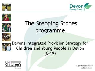The Vision for Stepping Stones