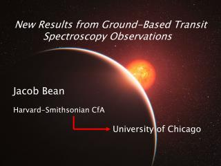 New Results from Ground-Based Transit Spectroscopy Observations