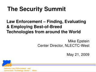 The Security Summit