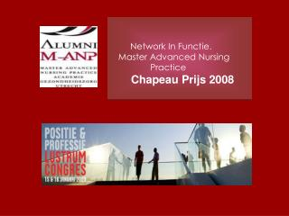 Network In Functie.     Master Advanced Nursing                       Practice