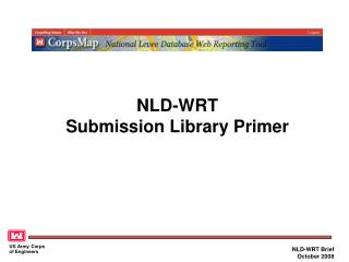 NLD-WRT Submission Library Primer