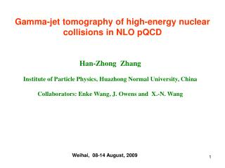 Gamma-jet tomography of high-energy nuclear collisions in NLO pQCD