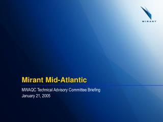 Mirant Mid-Atlantic