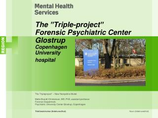 "The  "" Triple-project "" Forensic Psychiatric Center Glostrup Copenhagen University hospital"