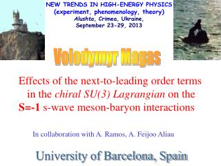 NEW TRENDS IN HIGH-ENERGY PHYSICS (experiment, phenomenology, theory)