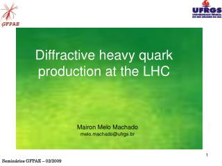 Diffractive heavy quark production at the LHC