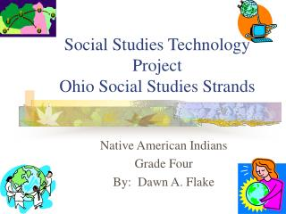 Social Studies Technology Project Ohio Social Studies Strands