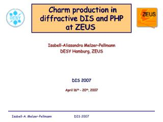 Charm production in diffractive DIS and PHP  at ZEUS