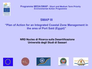 Programme MEDA/SMAP  - Short and Medium Term Priority Environmental Action Programme