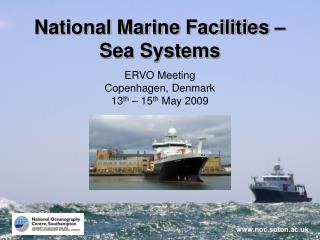 National Marine Facilities – Sea Systems