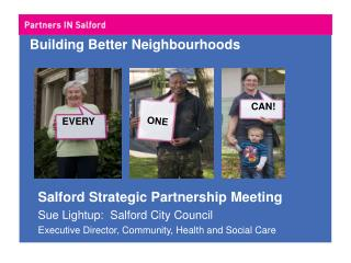 Building Better Neighbourhoods