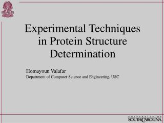 Experimental Techniques in Protein Structure Determination