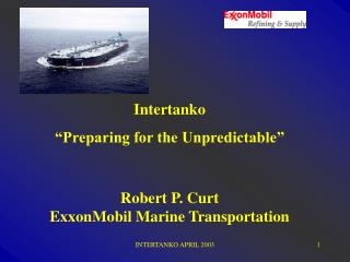 INTERTANKO APRIL 2003