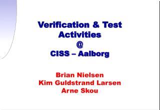Brian Nielsen  Kim Guldstrand Larsen Arne Skou