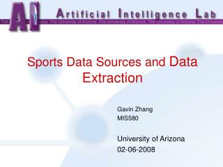 Sports Data Sources and Data Extraction