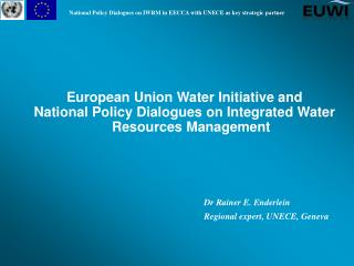 European Union Water Initiative and