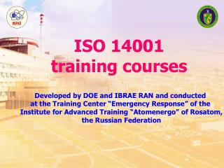 ISO 14001 training courses