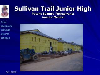 AE Senior Thesis:  Research: Modular Construction Applied to Sullivan Trail Junior High