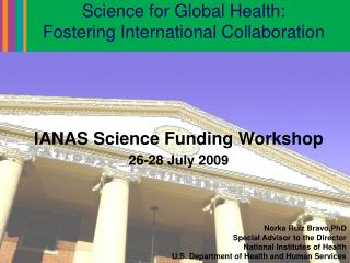 Science for Global Health:  Fostering International Collaboration