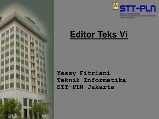 Editor Teks Vi