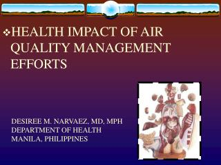 HEALTH IMPACT OF AIR QUALITY MANAGEMENT EFFORTS