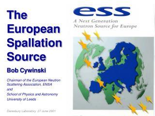 The  European Spallation Source