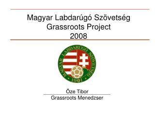 Magyar Labdarúgó Szövetség  Grassroots Project 2008