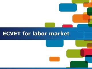ECVET  for labor  market