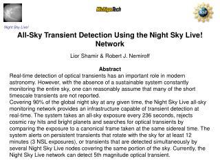 Night Sky Live!