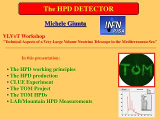 The HPD DETECTOR