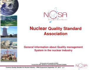 Nuclear  Quality Standard Association