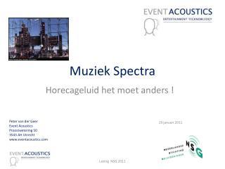 Muziek Spectra