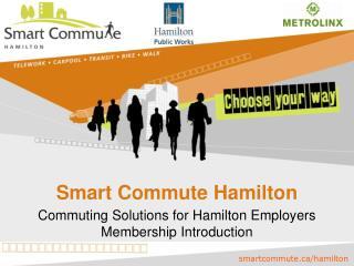 Smart Commute Hamilton
