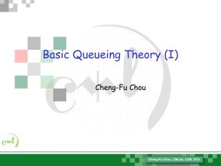 Basic Queueing Theory (I)