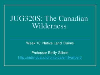 JUG320S: The Canadian Wilderness