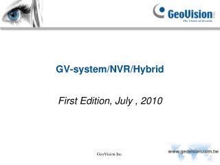 GV-system/NVR/Hybrid
