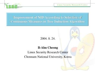 Improvement of NID According to Selection of Continuous Measures in Tree Induction Algorithm