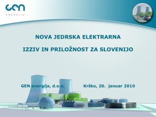 Oskrba z električno energijo. Okoljski učinki projekta in trajnostni razvoj.