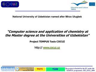 National University of Uzbekistan named after  Mirzo Ulugbek