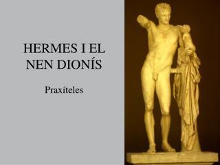 HERMES I EL NEN DIONÍS
