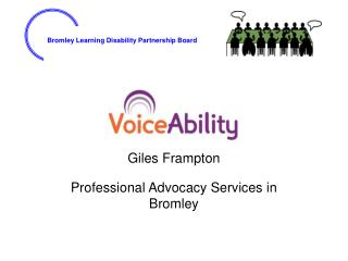 Giles Frampton Professional Advocacy Services in Bromley