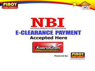 What is NBI e-CLEARANCE PAYMENT?