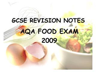 GCSE REVISION NOTES