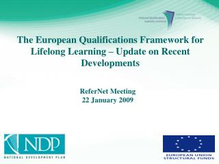 ReferNet Meeting 22 January 2009