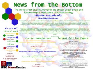 News from the Bottom